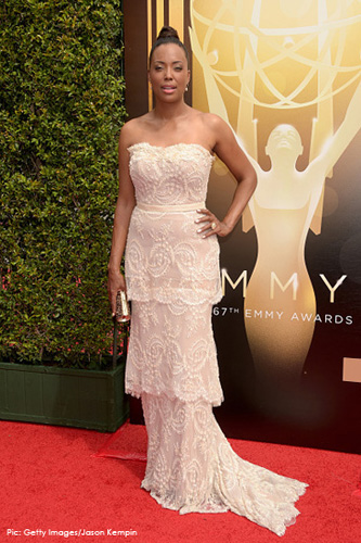 <br/>AISHA TYLER <br/>for Emmy-nominated Archer <br/>2015 CREATIVE ARTS EMMY AWARDS <br/>Hollywood, California <br/>September 12, 2015