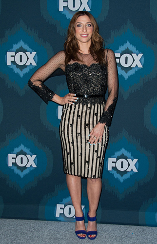 <br/>CHELSEA PERRETI (Brooklyn Nine Nine) <br/>FOX TCA All-Star Party <br/>Pasadena, CA <br/>January 17, 2015