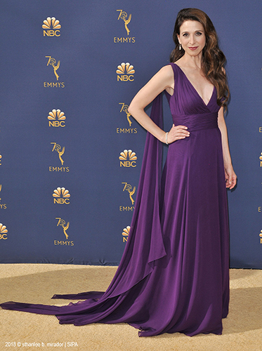 MARIN HINKLE (The Marvelous Mrs. Maisel) <br/>70th PRIMETIME EMMY AWARDS <br/>Los Angeles, California <br/>September 17, 2018