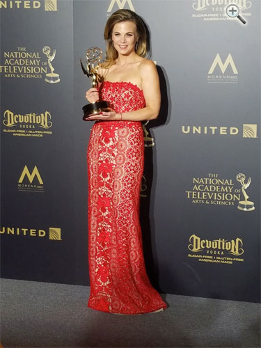 Gina Tognoni <br/>Outstanding Lead Actress  <br/>in a Drama Series - winner <br/>44th Annual Daytime Emmy Awards <br/>Pasadena, Calif <br/>April 30, 2017