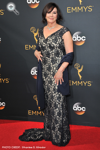 <br/>MARCIA CLARK <br/>People v OJ Simpson miniseries <br/>68th Annual Primetime Emmy Awards <br/>Hollywood, California <br/>September 18, 2016
