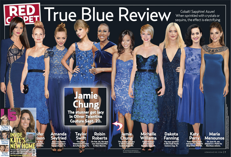 JAMIE CHUNG <br/>US Weekly magazine <br/>October 14, 2013 issue
