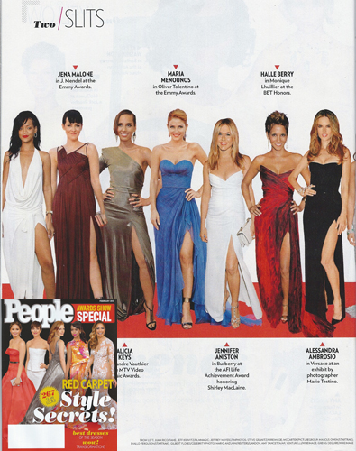 MARIA MENOUNOS <br/>People Magazine <br/>February 2013