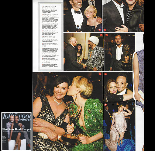MARCIA CLARK <br/>2016 Emmy Awards <br/>The Hollywood Reporter <br/>September 30, 2016 issue