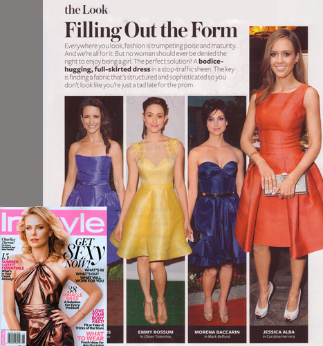 Emmy Rossum<br/>InSTYLE magazine<br/>June 2012