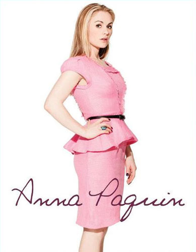 Anna Paquin <br/> ZOOEY Magazine <br/> May 2012