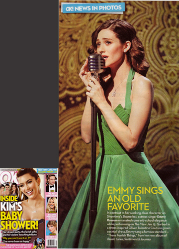 Emmy Rossum<br/> Ok! Magazine  <br/>Feb 4, 2013 issue