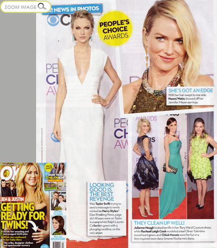 Rachael Leigh Cook <br/>in OK! Magazine <br/>January 28, 2013 issue